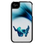 Snowboard Design iPhone 4 Case