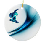 Snowboard Design Ornament