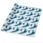 Snowboarding Design Gift Wrapping Paper