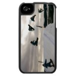 Snowboarding Tricks iPhone 4 Case