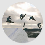 Snowboarding Tricks Stickers